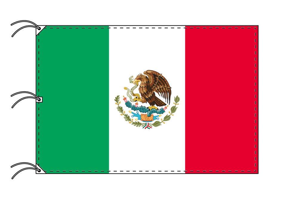 世界の国旗 メキシコ国旗[200×300cm・高級テトロン製]NO.6号