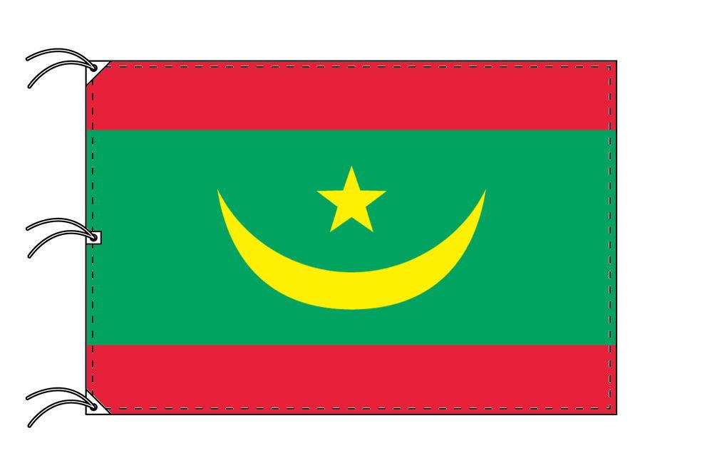 世界の国旗 モーリタニア国旗[200×300cm・高級テトロン製]NO.6号
