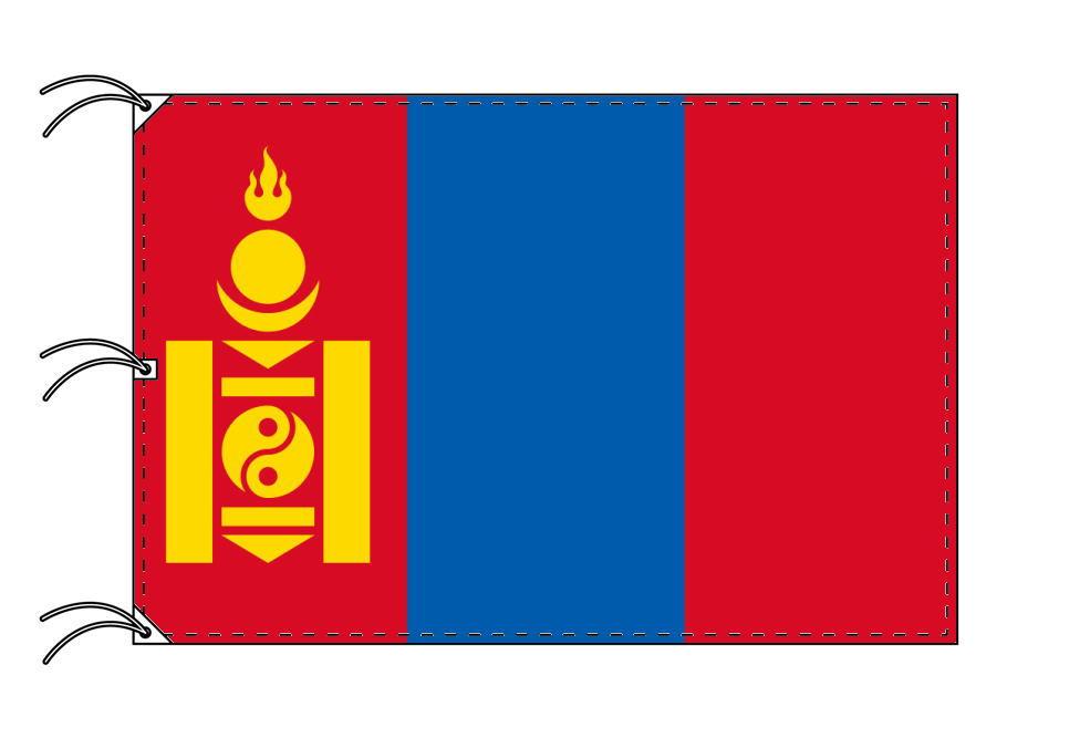 世界の国旗 モンゴル国旗[180×270cm・高級テトロン製]NO.5号
