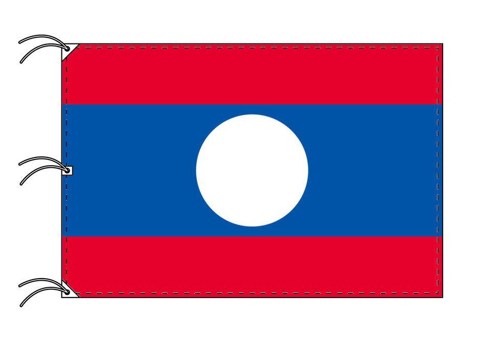 世界の国旗 ラオス国旗[200×300cm・高級テトロン製]NO.6号