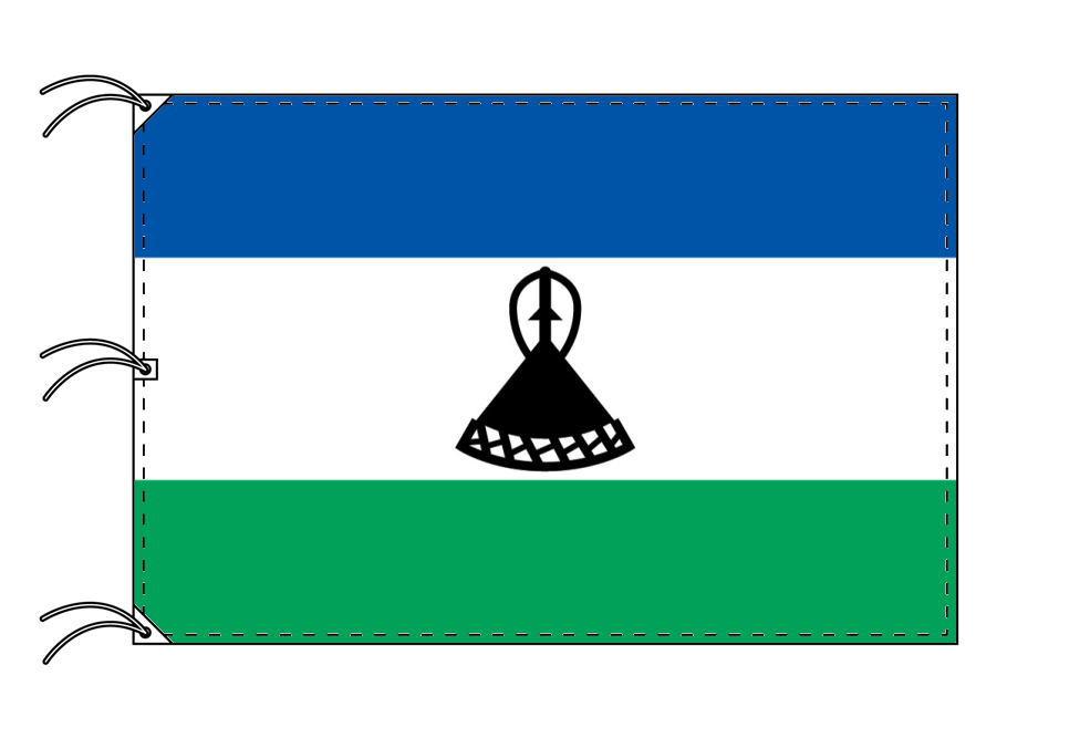 世界の国旗 レソト国旗[200×300cm・高級テトロン製]NO.6号