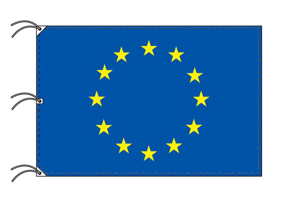 世界の国旗 EU[欧州連合]旗[200×300cm・高級テトロン製]NO.6号