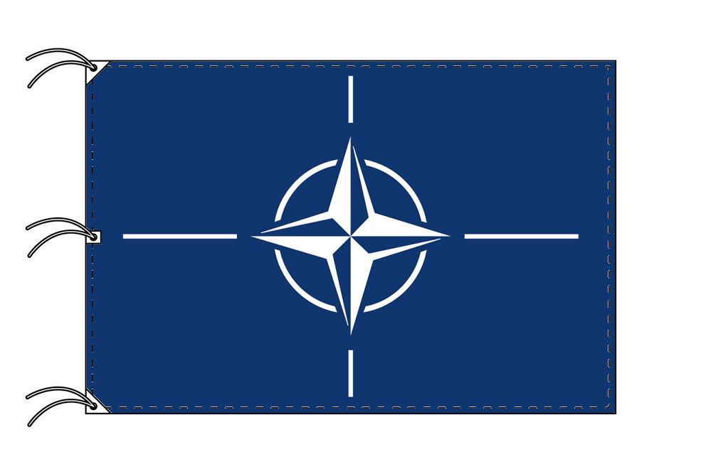 NATO[北大西洋条約機構]国旗[200×300cm・高級テトロン製]NO.6号