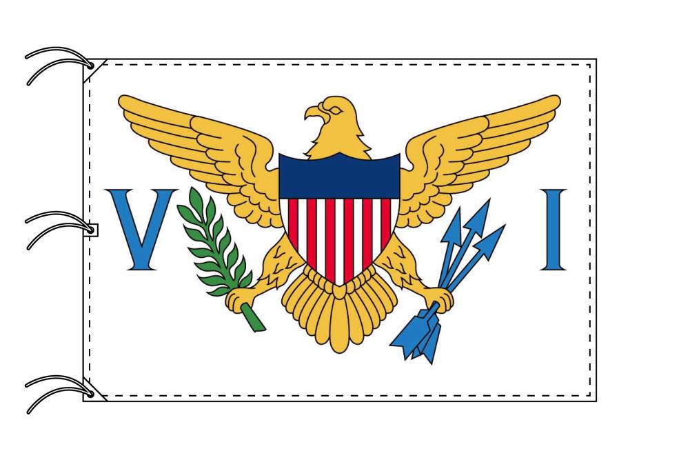 アメリカ領ヴァージン諸島 国旗[200×300cm・高級テトロン製]IOC加盟地域