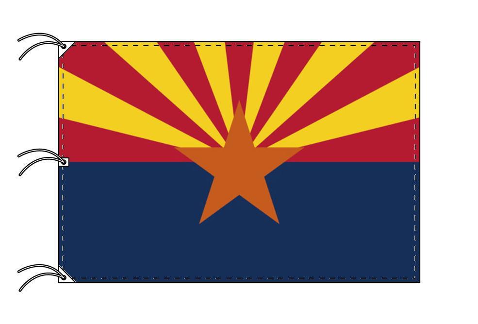 アリゾナ州旗[アメリカ合衆国の州旗・140×210cm・高級テトロン製]