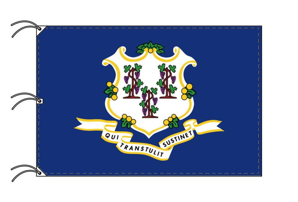 コネチカット州旗[アメリカ合衆国の州旗・140×210cm・高級テトロン製]
