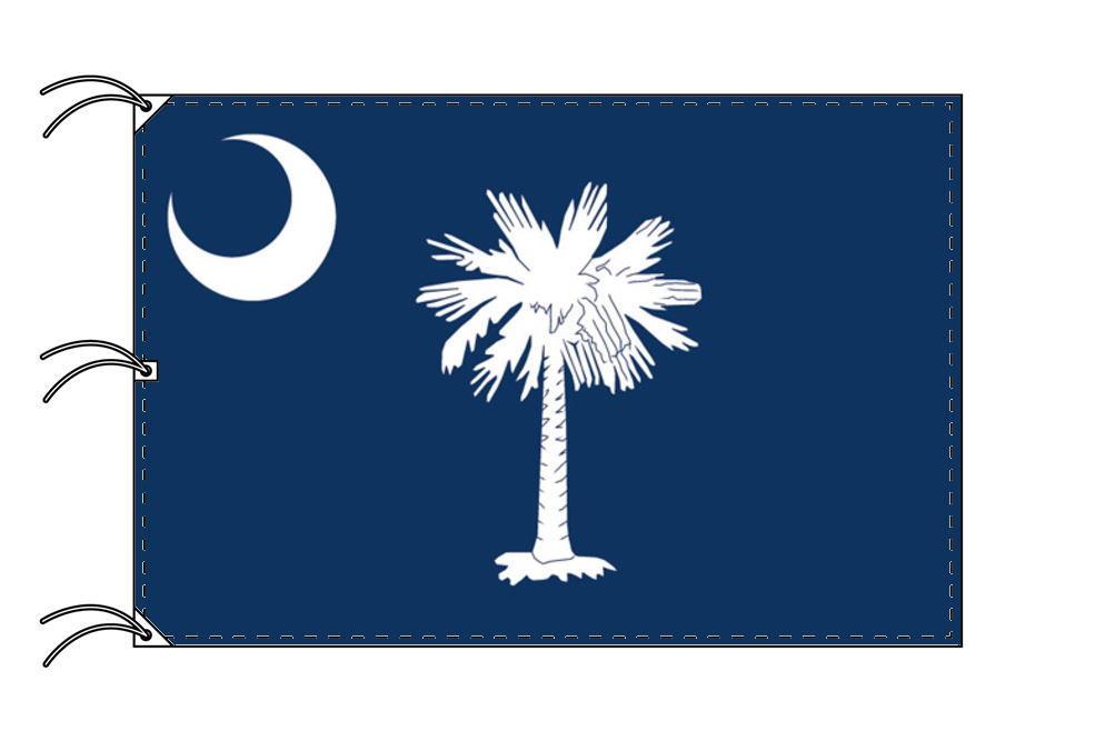 サウスカロライナ州旗[アメリカ合衆国の州旗・140×210cm・高級テトロン製]