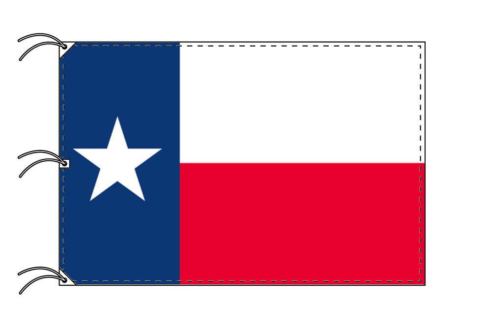 テキサス州旗[アメリカ合衆国の州旗・140×210cm・高級テトロン製]