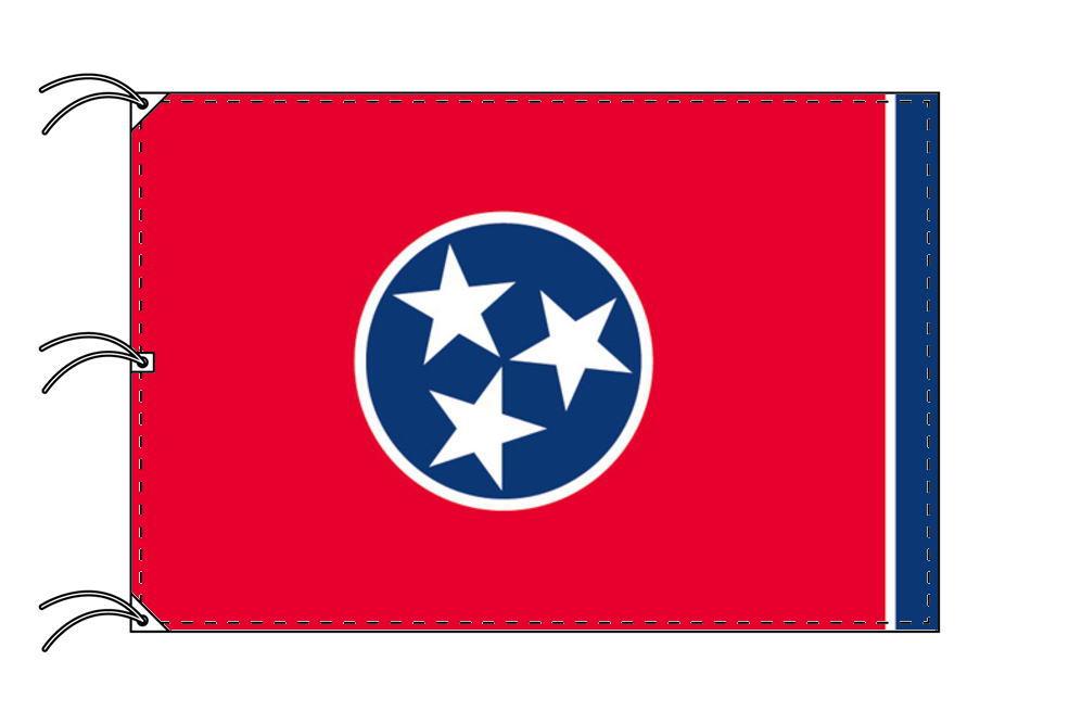 テネシー州旗[アメリカ合衆国の州旗・140×210cm・高級テトロン製]