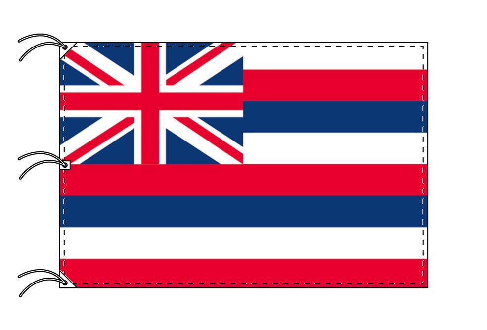 ハワイ州旗[アメリカ合衆国の州旗・140×210cm・高級テトロン製]