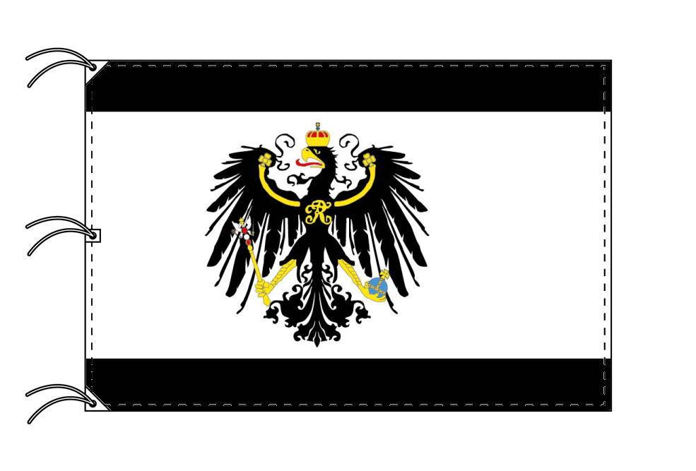 プロイセン王国 国旗[140×210cm・高級テトロン製]受注生産
