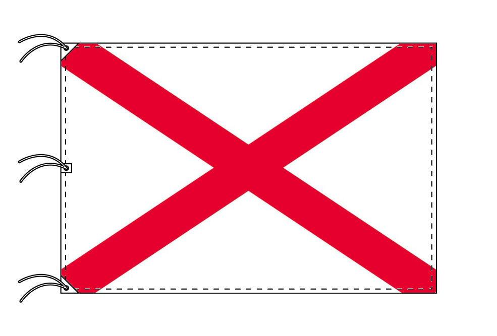 聖パトリック 国旗 アイルランド[140×210cm・高級テトロン製]受注生産