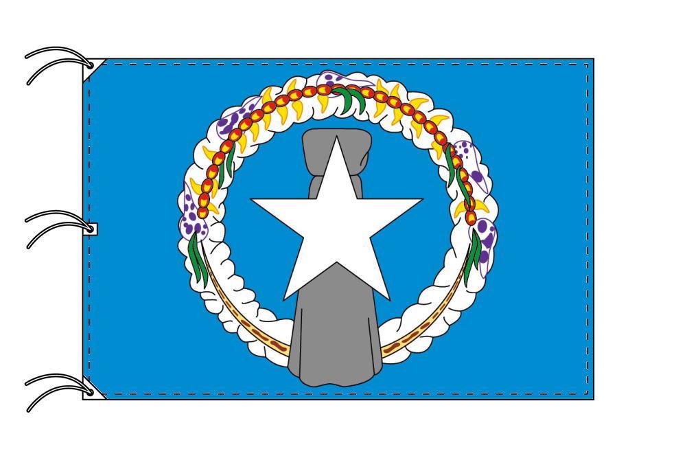 北マリアナ諸島 国旗 アメリカ領[140×210cm・高級テトロン製]受注生産