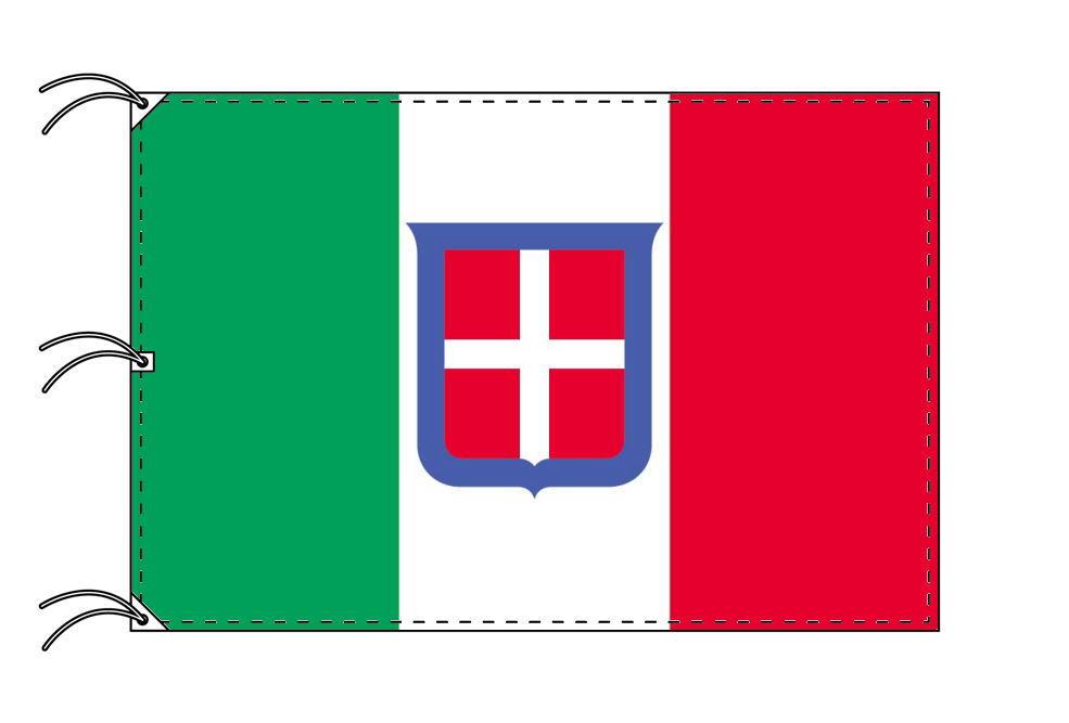 旧イタリア王国旗 (1861~1946)[140×210cm・高級テトロン製]受注生産