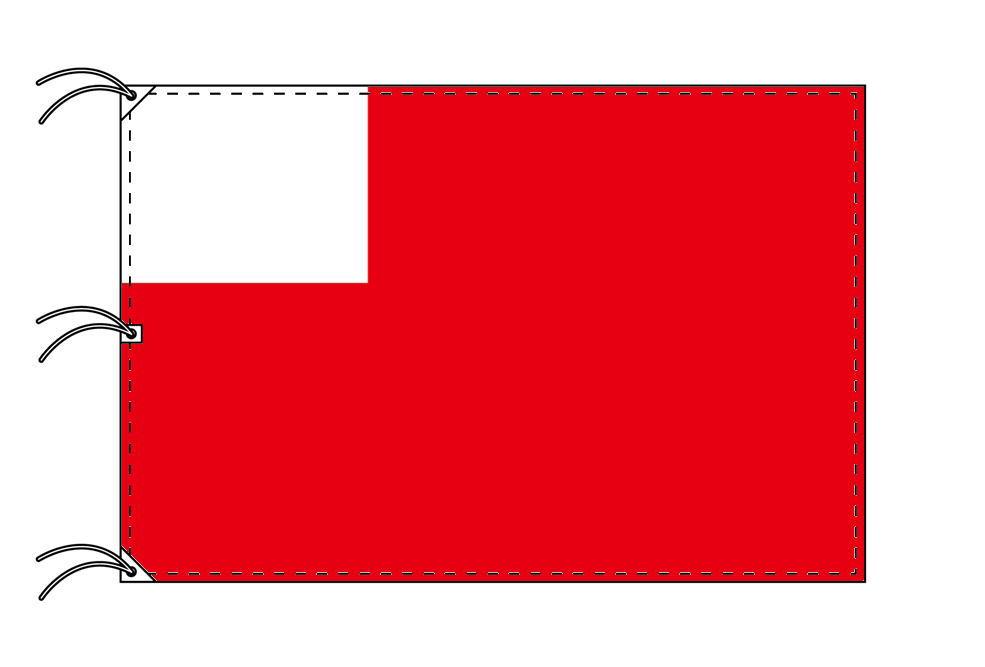 アブダビ 国旗 アラブ首長国連邦(UAE)の首長国[140×210cm・高級テトロン製]受注生産