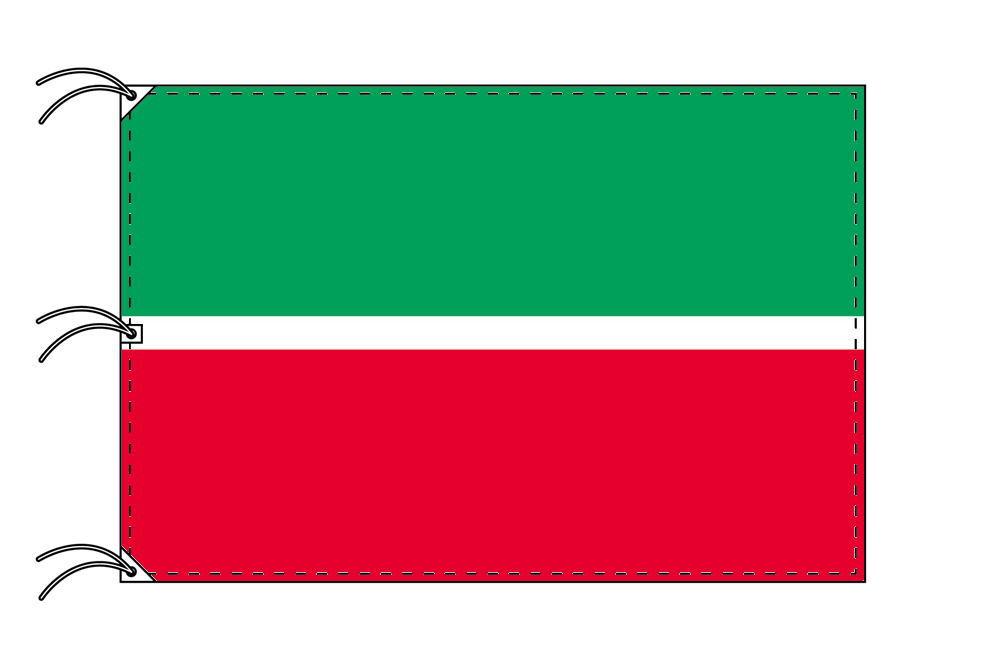 タタールスタン共和国 国旗 ロシア連邦[140×210cm・高級テトロン製]受注生産