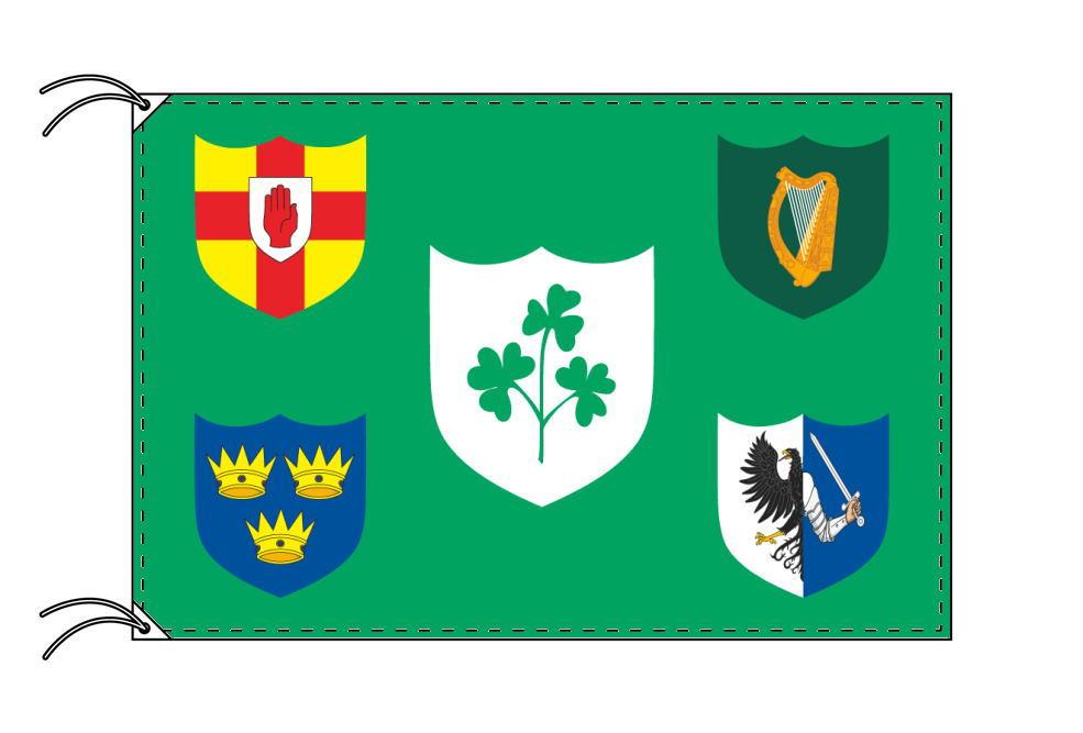 アイルランドラグビー代表の旗 120×180cm テトロン製 日本製 世界の国旗シリーズ