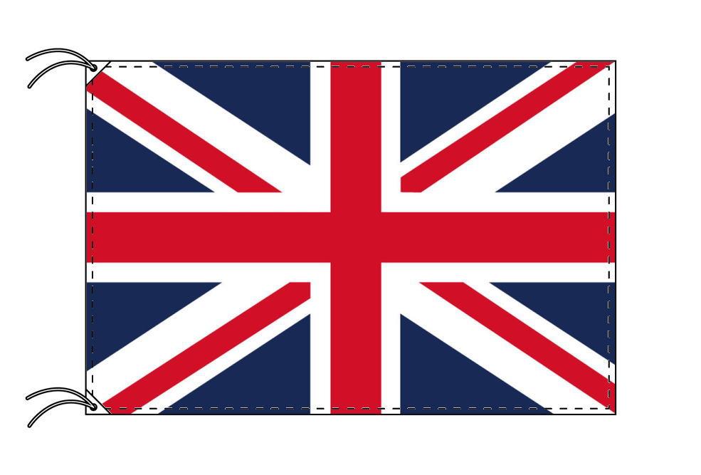 イギリス・ユニオンジャック・国旗セット[DX]【アルミ合金ポール・取付部品付・テトロン国旗 サイズ70×105cm】安心の日本製