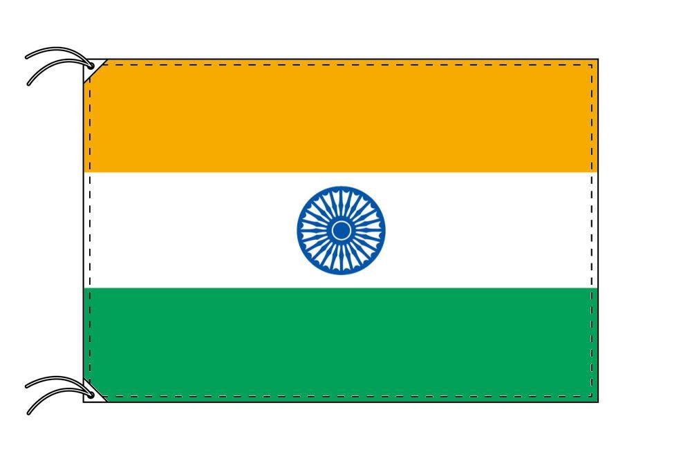 世界の国旗 インド国旗[120×180cm・高級テトロン製]【smtb-u】
