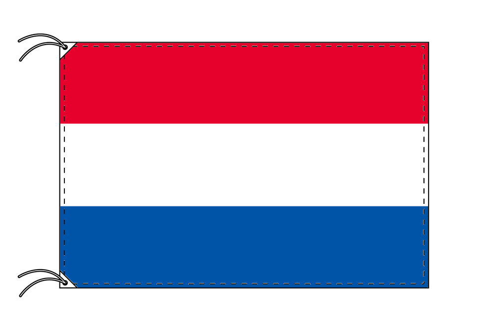 世界の国旗 オランダ国旗[120×180cm・高級テトロン製]【smtb-u】