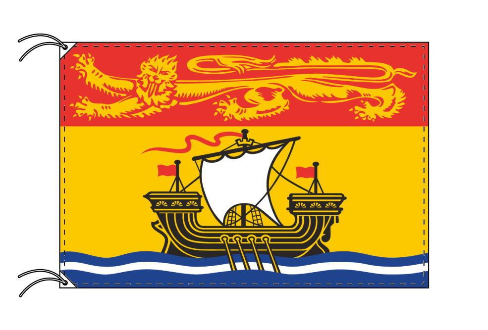 ニューブランズウィック州 カナダ 州の旗 州旗 70×105cm