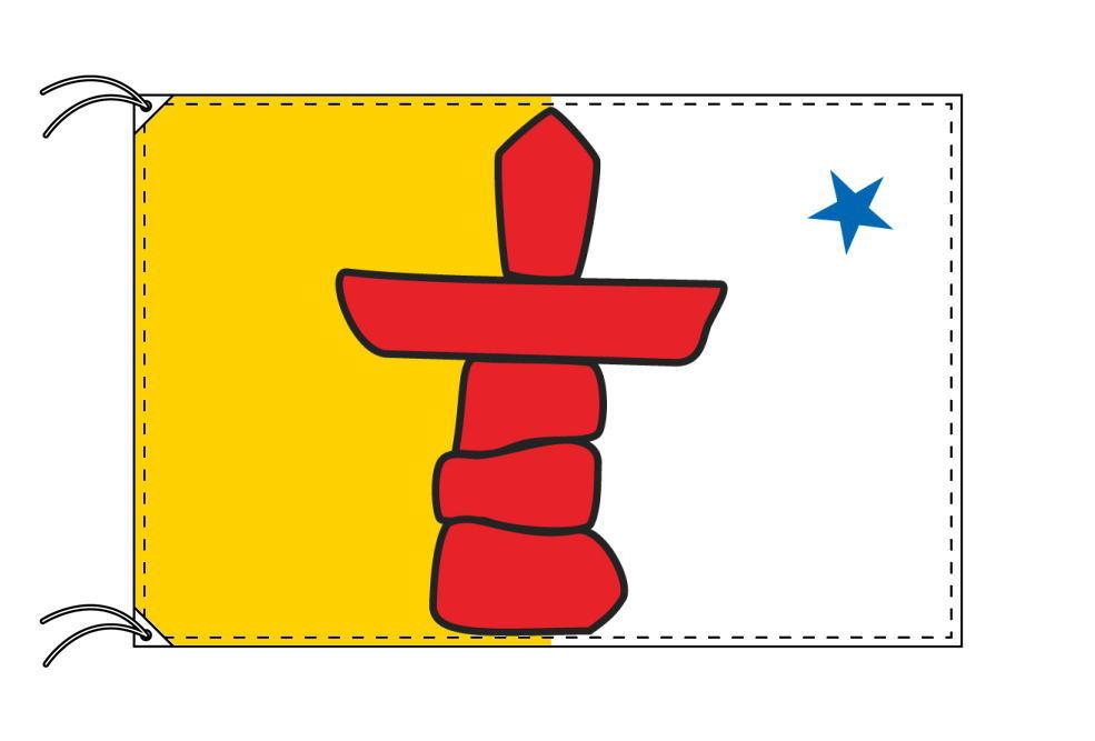 ヌナブト準州 カナダ州の旗 州旗 90×135cm