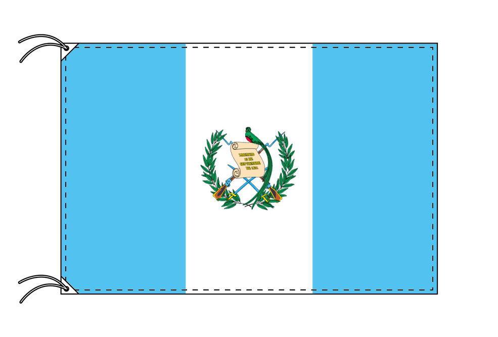 世界の国旗 グアテマラ国旗[90×135cm・高級テトロン製]安心の日本製