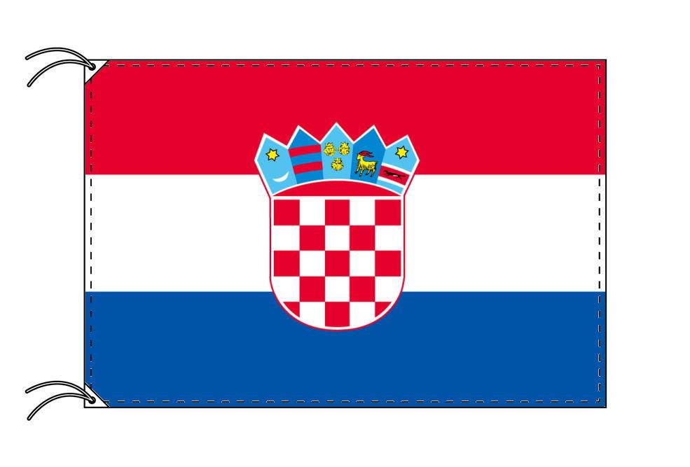 世界の国旗 クロアチア国旗[120×180cm・高級テトロン製]【smtb-u】