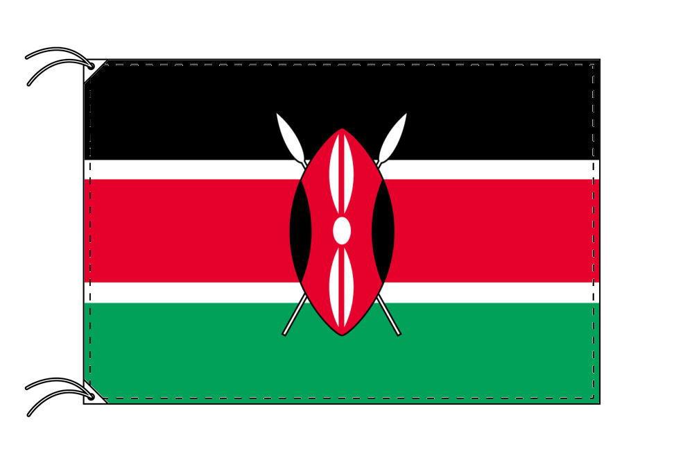 世界の国旗 ケニア国旗[120×180cm・高級テトロン製]【smtb-u】