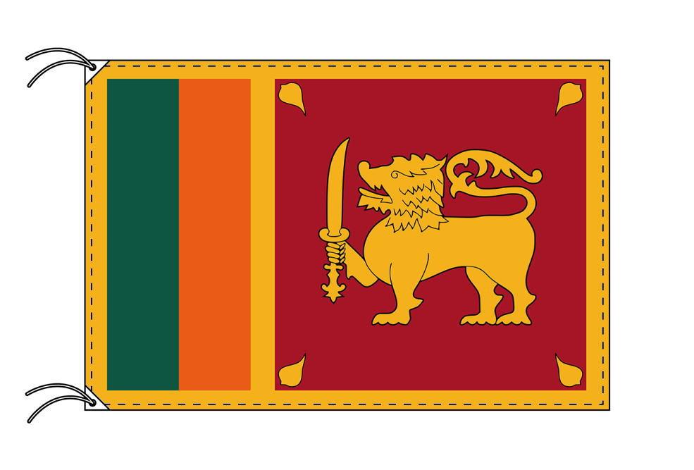 世界の国旗 スリランカ国旗[100×150cm・高級テトロン製]
