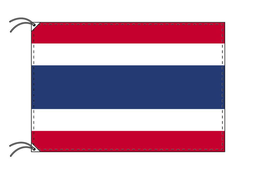 タイ 国旗 100×150cm テトロン製 日本製 世界の国旗シリーズ