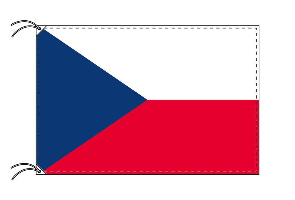 世界の国旗 チェコ国旗[120×180cm・高級テトロン製]【smtb-u】