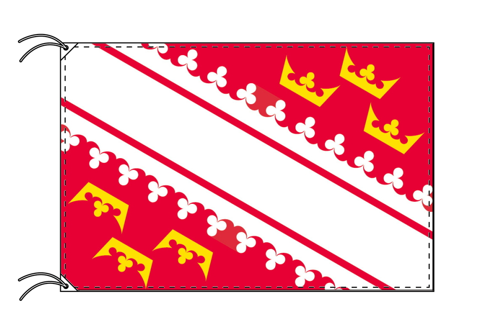 アルザス地域圏 フランス地域圏の旗・州旗(120×180cm)