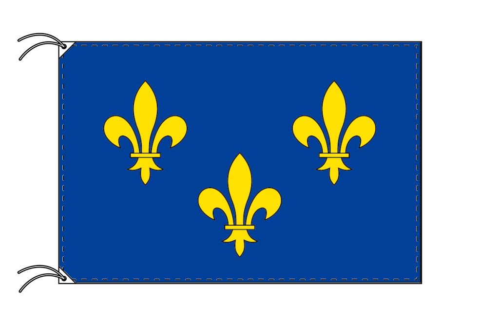 イル=ド=フランス地域圏 フランス地域圏の旗・州旗(120×180cm)