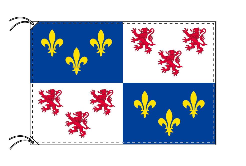 ピカルディ地域圏 フランス地域圏の旗・州旗(120×180cm)