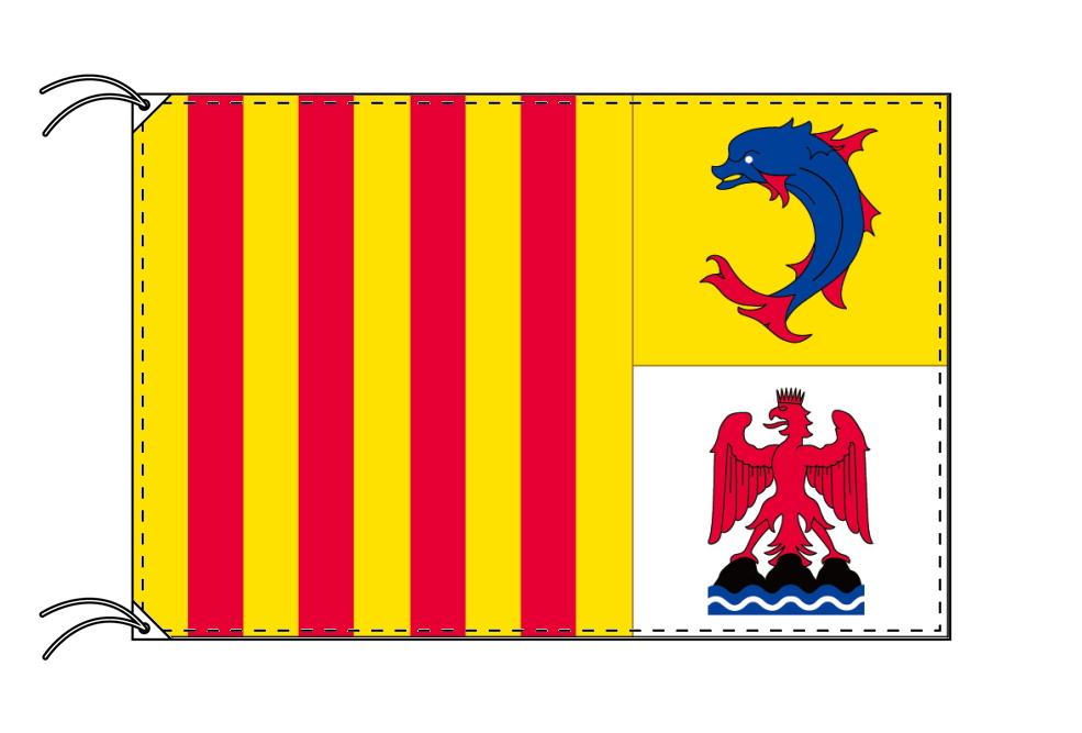 プロヴァンス=アルプ=コート・ダジュール地域圏 フランス地域圏の旗・州旗(100×150cm), マルセップチョウ:f2f49298 --- sunward.msk.ru