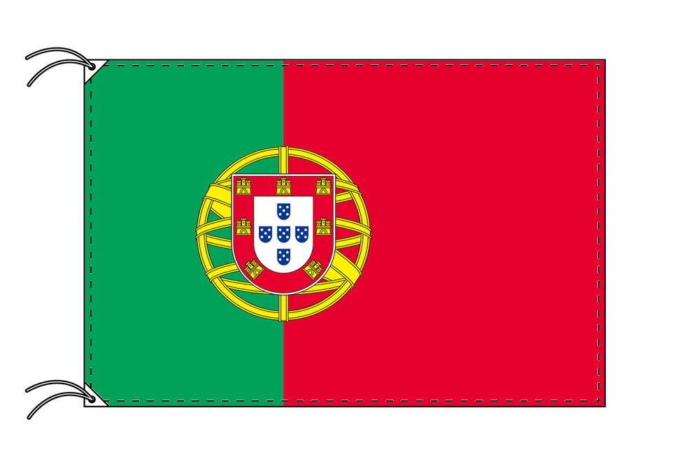 世界の国旗 ポルトガル国旗[90×135cm・高級テトロン製]安心の日本製