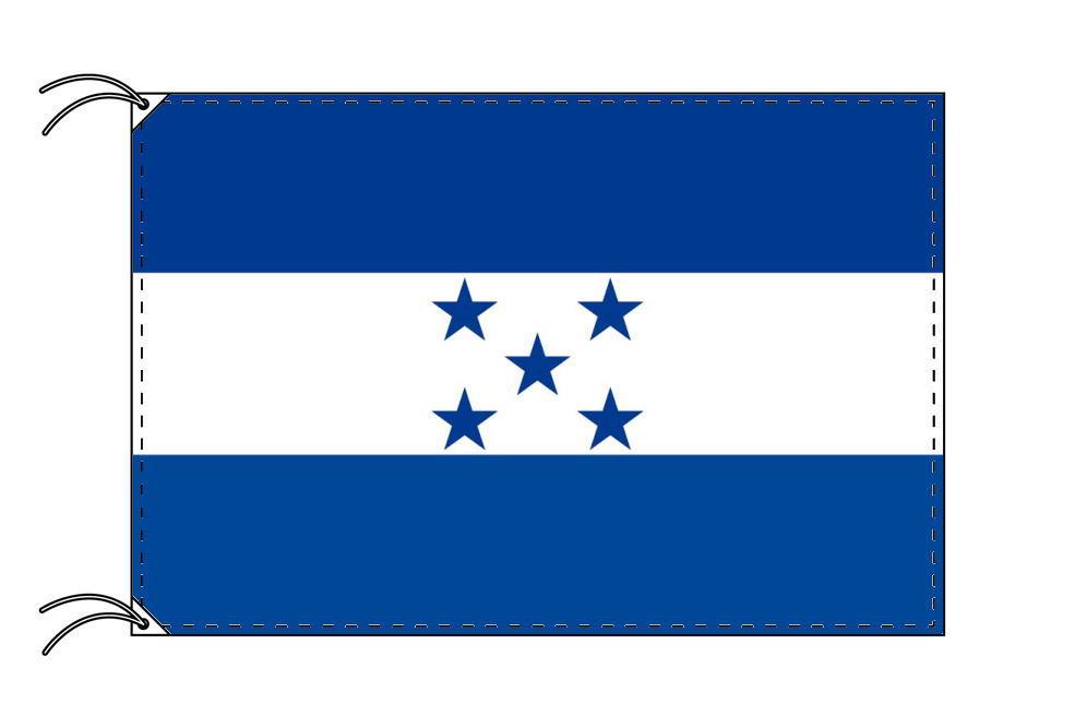 高級直立型スタンド 国旗セット ホンジュラス国旗[90×135cm・高級テトロン製]【smtb-u】