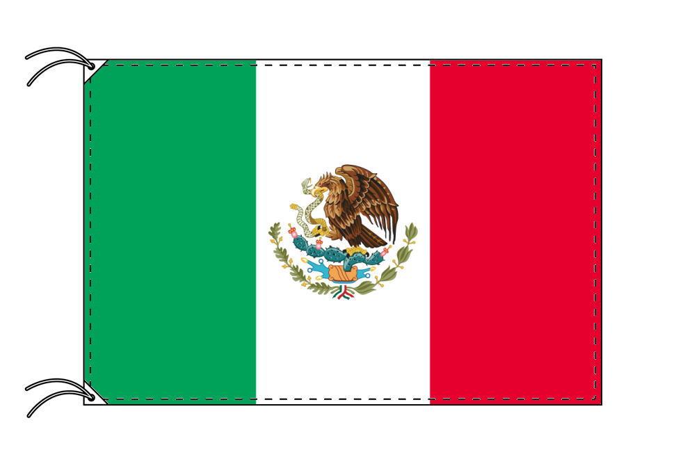 世界の国旗 メキシコ国旗[90×135cm・高級テトロン製]安心の日本製