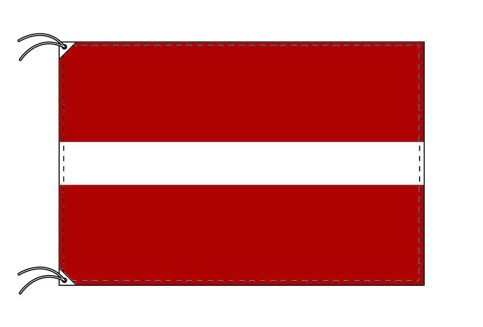 世界の国旗 ラトビア国旗[100×150cm・高級テトロン製]