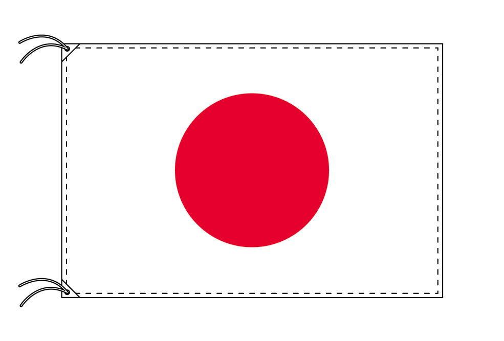 日本・国旗セット[DX]【アルミ合金ポール・取付部品付・テトロン国旗 サイズ70×105cm】安心の日本製