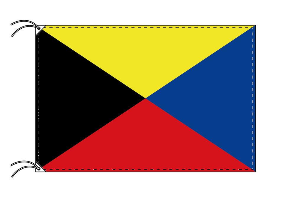 Z[ゼット]安心の日本製旗・高級大型国旗セット(サイズ90×135cm・ポール・新型フロアスタンド付き)