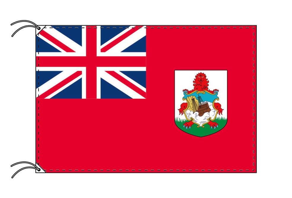 バミューダ諸島 高級大型国旗セット(サイズ90×135cm・ポール・新型フロアスタンド付き)IOC加盟地域
