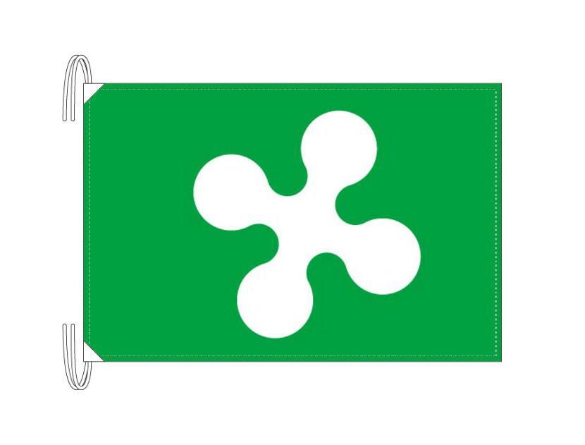 イタリア・州旗 ロンバルディア州(50×75cm・高級テトロン製・日本製)