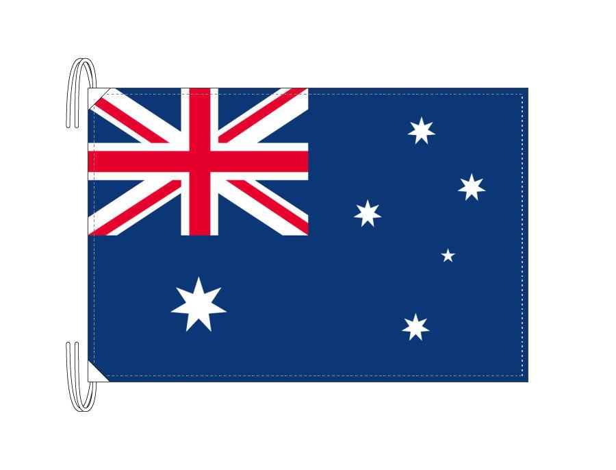 オーストラリア 国旗 Lサイズ 50×75cm テトロン製 日本製 世界の国旗シリーズ