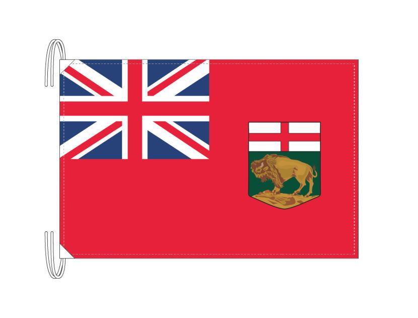 マニトバ州 カナダ 州の旗 州旗 50×75cm