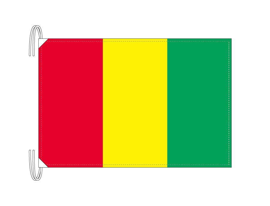 楽天市場】ギニア 国旗 Lサイズ 50×75cm テトロン製 日本製 世界の国旗 ...