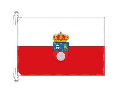 スペイン・自治州旗 カンタブリア州(50×75cm・高級テトロン・日本製)