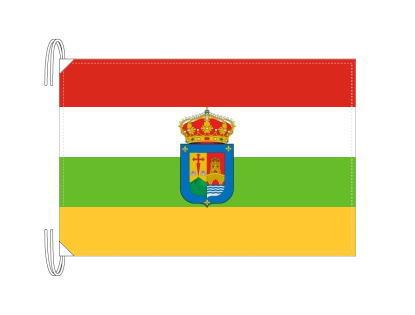 スペイン・自治州旗 ラ・リオハ州(50×75cm・高級テトロン・日本製)