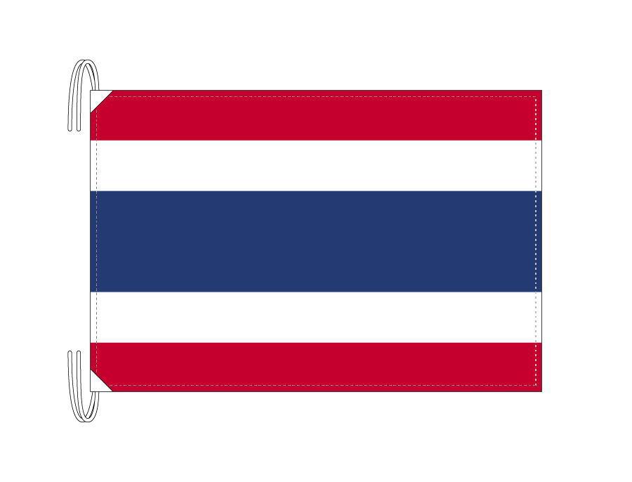 タイ 国旗 Lサイズ 50×75cm テトロン製 日本製 世界の国旗シリーズ
